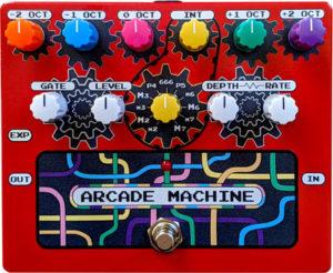 RPS Effects Arcade Machine Synth/Harmonizer Pedal