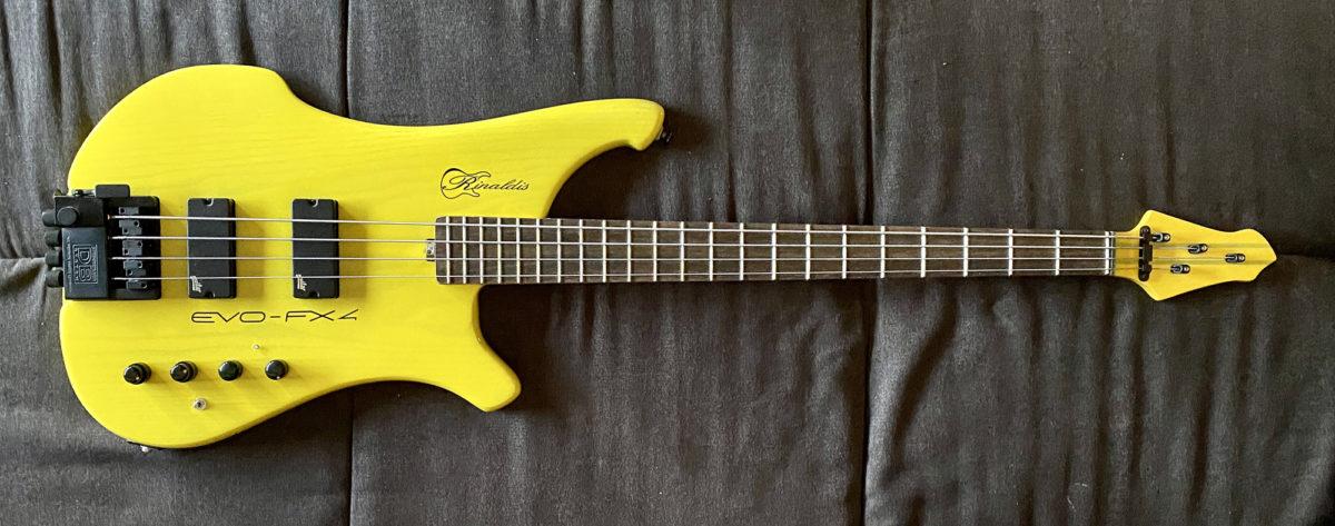 Rinaldis Custom Basses EVO-FX4 Bass