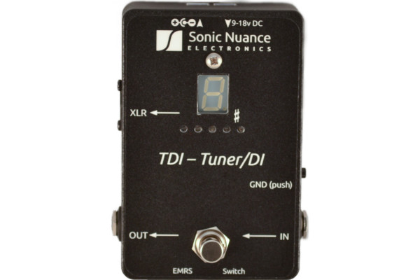 Sonic Nuance Updates Tuner + DI Pedal for 2020