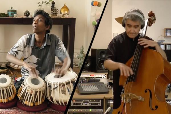 Renaud Garcia-Fons & Do Sé Panch Prabhu Edouard: Double Bass/Tabla Duet