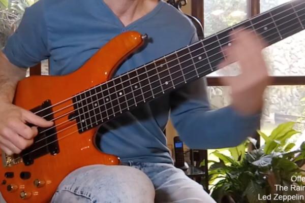 """Offer Ram: """"The Rain Song"""" Solo Bass Arrangement"""