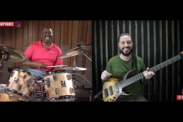 Nick Schendzielos: The Purdie Shuffle on Bass