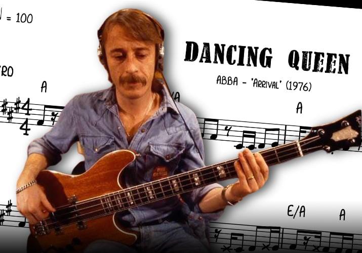 ABBA Dancing Queen Bass Transcription