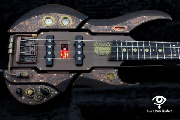 "Bass of the Week: EBG-Instruments EBG-4 JJ SP ""Steampunk"" Bass"