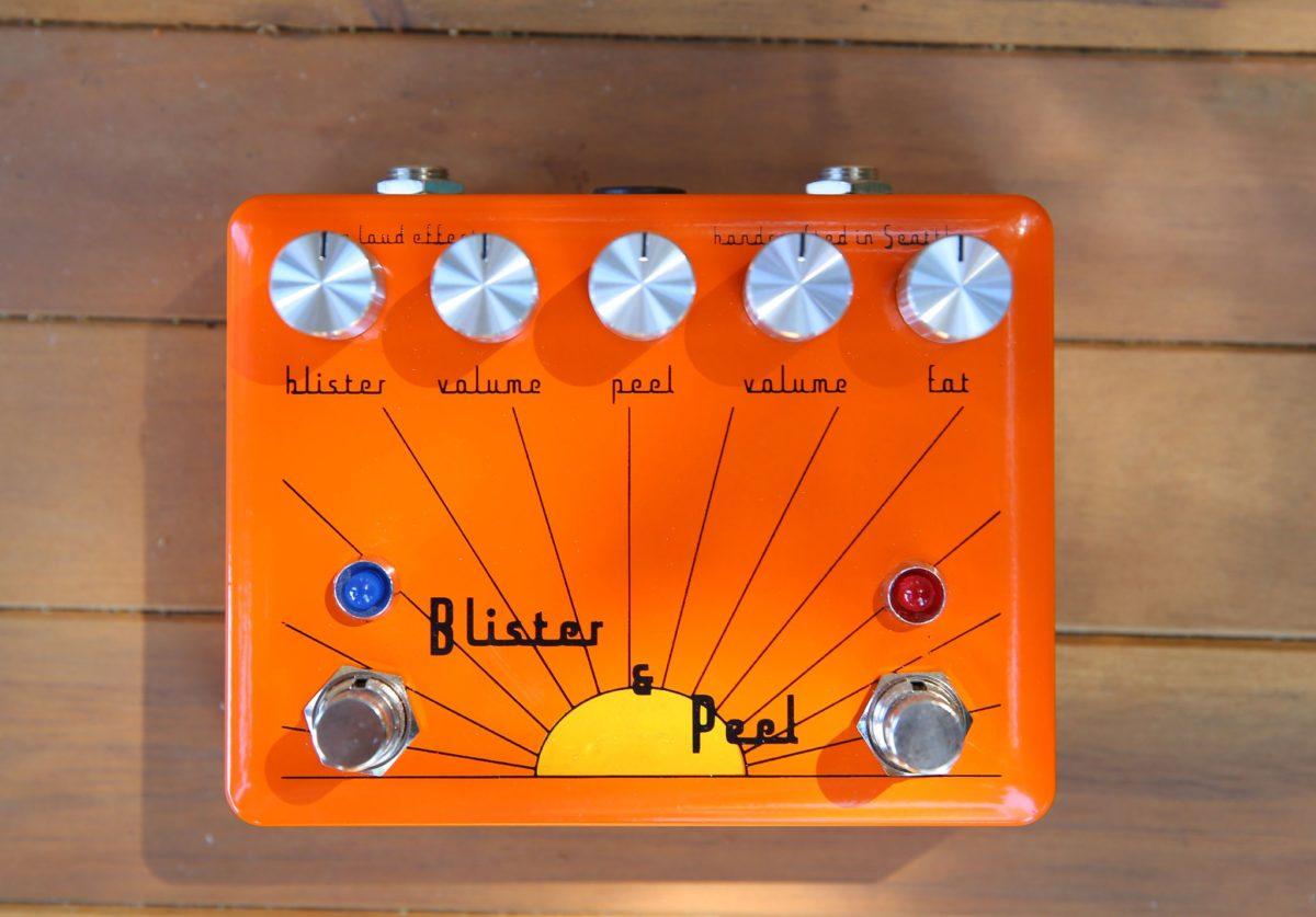 Spun Loud Effects Blister & Peel Fuzz Drive V.2 Pedal