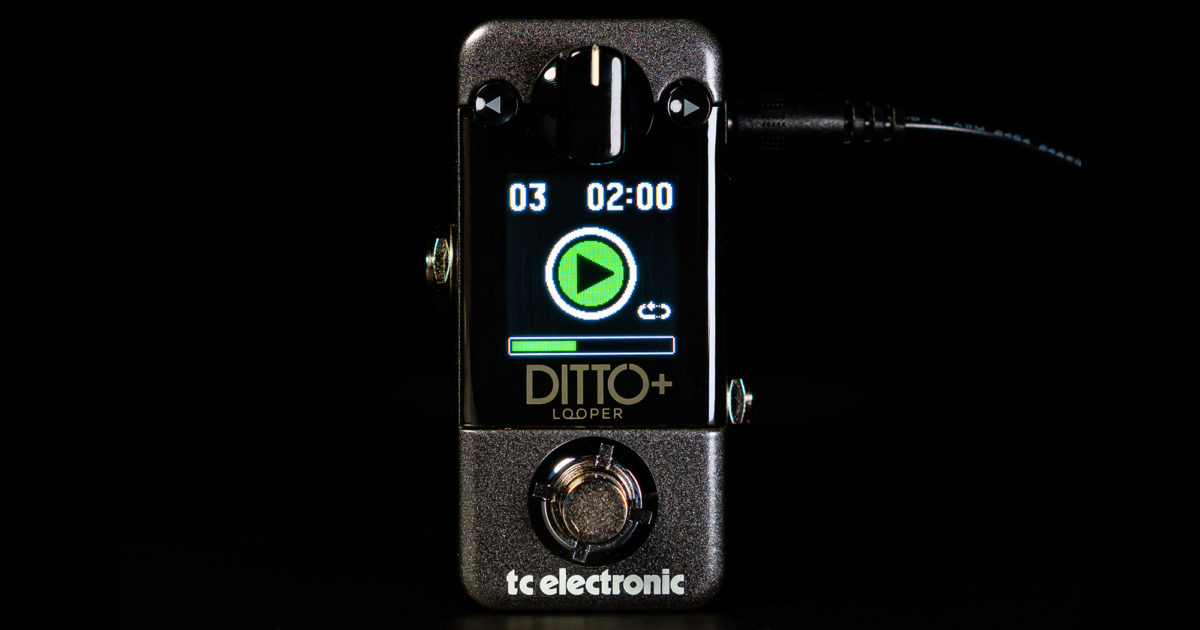 TC Electronic Ditto+ Looper Pedal