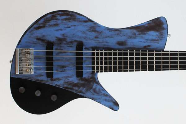 Bass of the Week: Ulrich BassDesign Weathered Blue 5-String