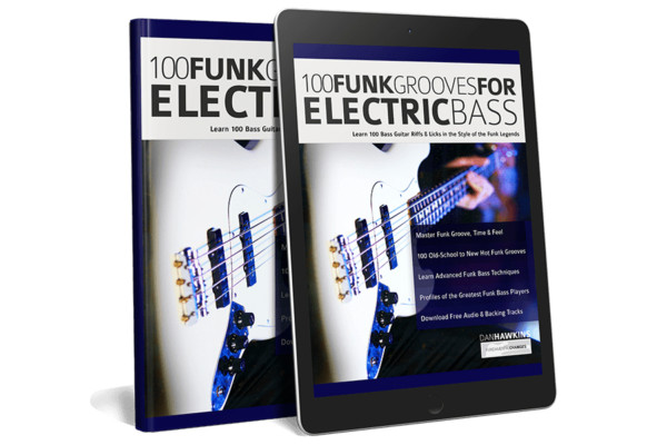 """Dan Hawkins Publishes """"100 Funk Grooves for Electric Bass"""""""