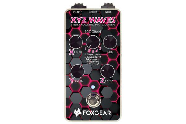 Foxgear Introduces the XYZ Waves Modulation Pedal