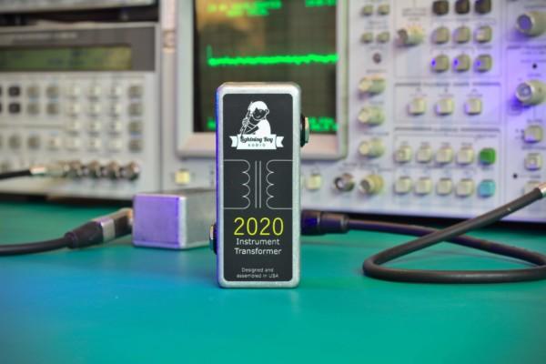 Lightning Boy Audio Introduces the 2020 Instrument Transformer Pedal