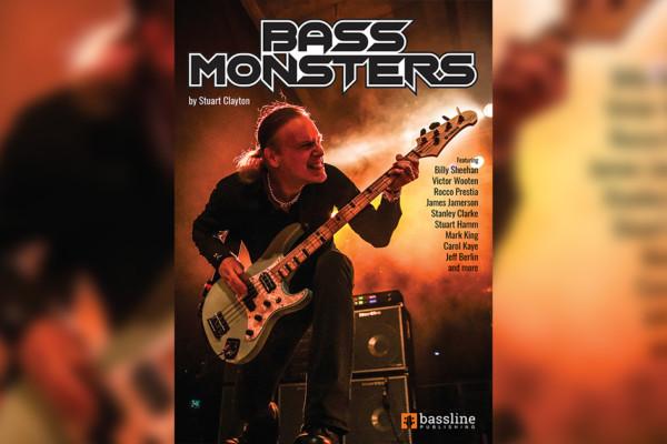 """Stuart Clayton Publishes """"Bass Monsters"""" Transcription Book"""
