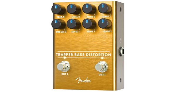 Fender Announces the Trapper Bass Distortion Pedal