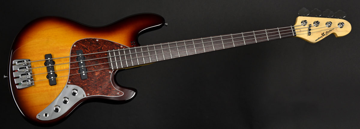 Sandberg Electra TT Tobacco Sunburst Bass