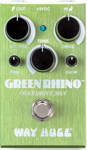 Way Huge Smalls Green Rhino Overdrive MKV Pedal