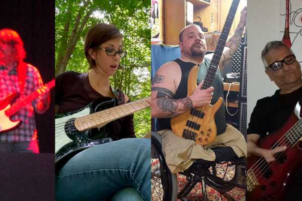 Bass is My Medicine: Four Bass Players With Disabilities Reflect on Their Experiences