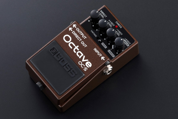 Boss Unveils the OC-5 Octave Pedal
