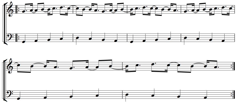 Developing Rhythmic Independence - Figure 7