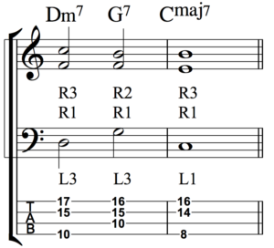 Developing Simultaneous Chordal and Bass Line Accompaniment - Fig 3