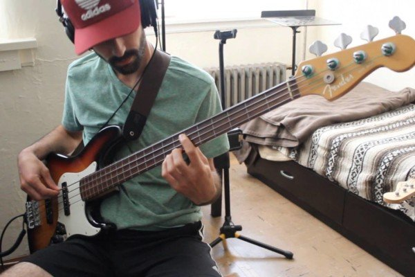 """Gonzalo Godio: """"Give Blood"""" Bass Play-Through"""