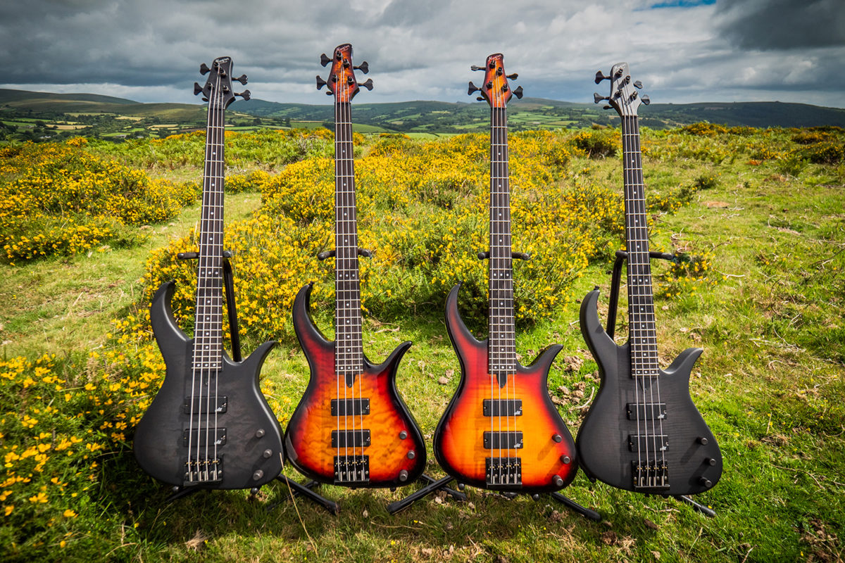 Manson Guitar Works 2021 John Paul Jones Signature Basses