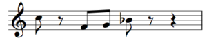 Rhythmic Displacement of Melodies - Fig. 6
