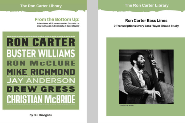 Ron Carter Adds 2 New Books to Library