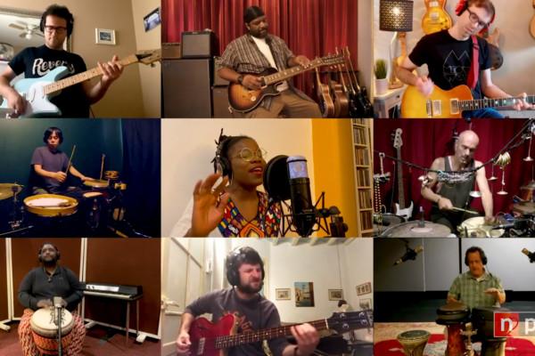 GroundUP Music with Becca Stevens, Bokanté, Alina Engibaryan And More: Tiny Desk (Home) Concert