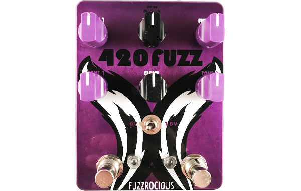 Fuzzrocious Pedals Unveils 420 Fuzz v2 Pedal