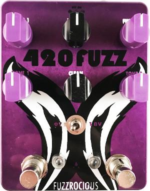 Fuzzrocious Pedals 420 Fuzz v2 Pedal