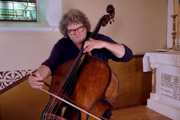 Joel Quarrington: J.S. Bach Preludio from Violin Partita no3 BWV 1006