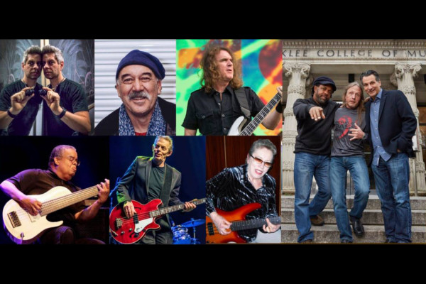 "Steve Bailey, John Patitucci, and Victor Wooten Host ""Pick Bass and Beyond"" Webinar"