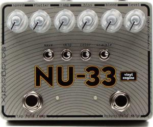 SolidGoldFX NU-33 Vinyl Engine Pedal