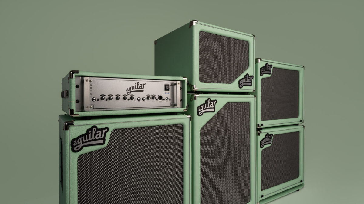 Aguilar Poseidon Green Special Edition SL Cabinets