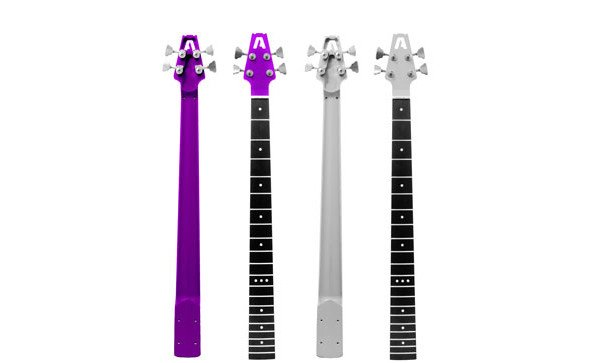 Aluminati Guitar Co. Introduces Andromeda Aluminum Bass Necks