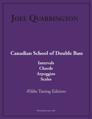 Bass in Fifths - Intervals, Chords, Arpeggios, Scales