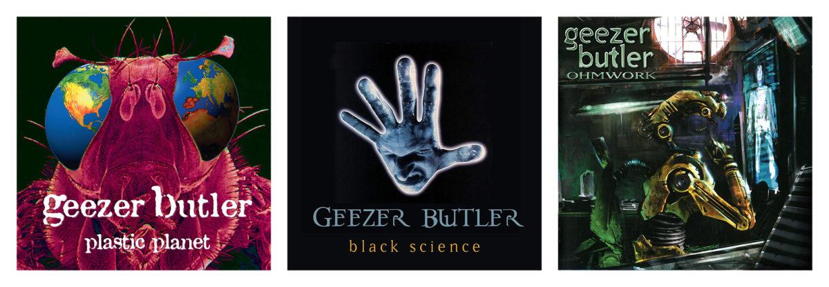 Geezer Butler Solo Discography Vinyl Release