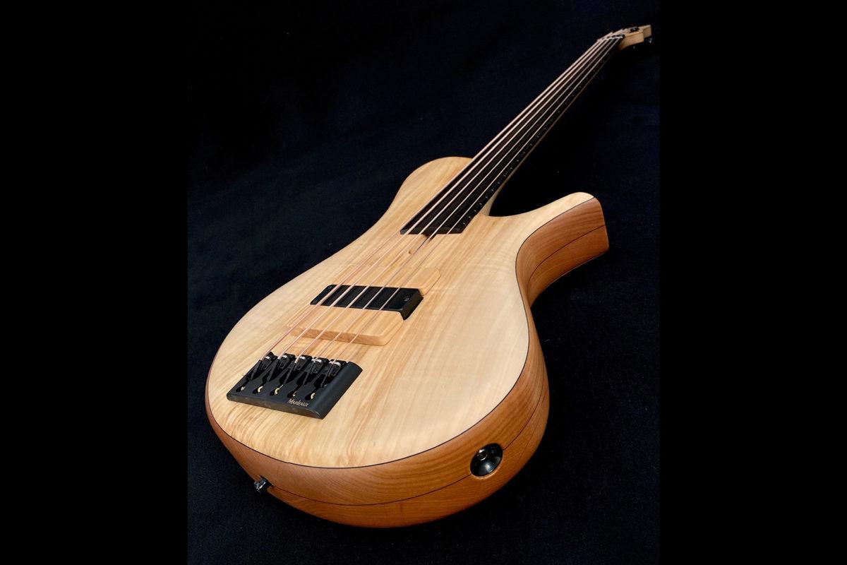 Marleaux Basses MBass Big Hollow 5-String Fretless Bass