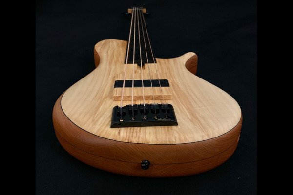 Bass of the Week: Marleaux Basses MBass Big Hollow 5-String Fretless