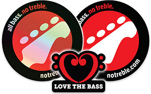 No Treble Stickers are Back! Shop Now