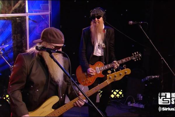 """ZZ Top: """"La Grange"""" on the Howard Stern Show"""