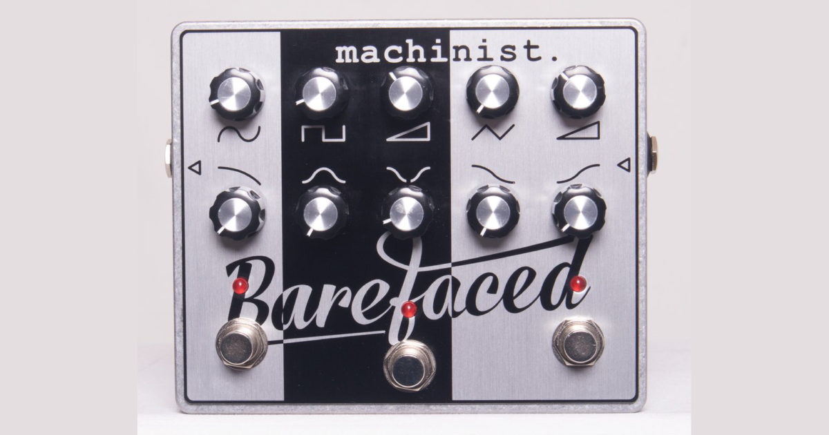 Barefaced Audio Machinist Pedal