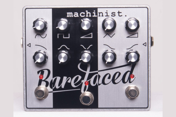 Barefaced Audio Releases First Effects Pedal: The Machinist