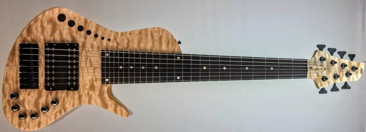 Benavente Guitars SCB Hybrid 7-String Bass