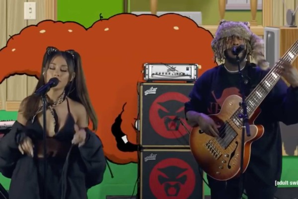 Thundercat: Them Changes (with Ariana Grande, DOMi & JD Beck)