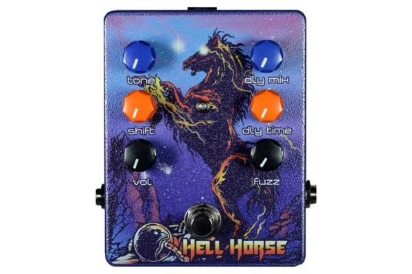 Haunted Labs and Dirty Haggard Audio Announce the Hell Horse Pedal