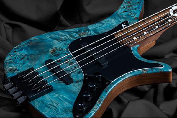 Kiesel Announces Dustin Davidson DD4 Signature Headless Bass
