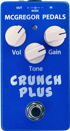 McGregor Pedals Crunch Plus Overdrive Pedal