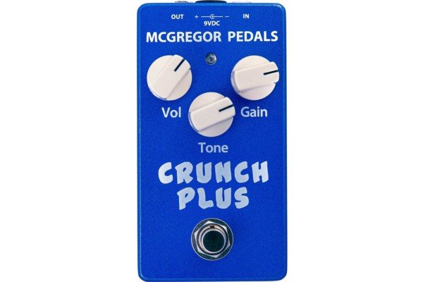 McGregor Pedals Introduces the Crunch Plus Overdrive Pedal