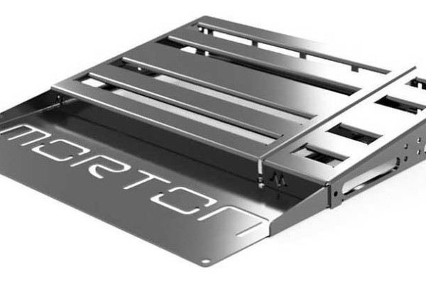 Morton Pedalboards Introduces Modular Pedalboard System