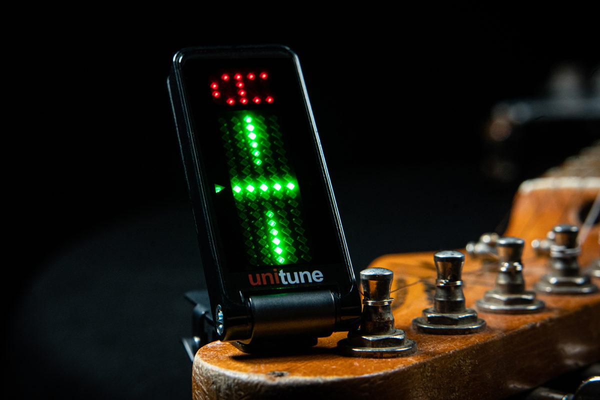 TC Electronic UniTune Clip Noir Headstock Tuner